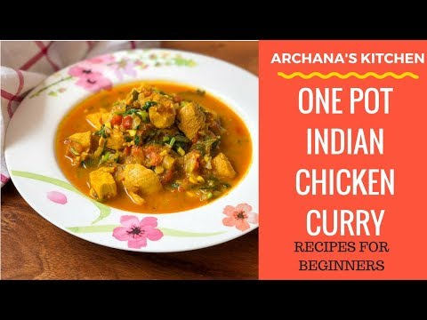 One Pot Pressure Cooker Indian Chicken Curry - Chicken Recipes by Archana's Kitchen