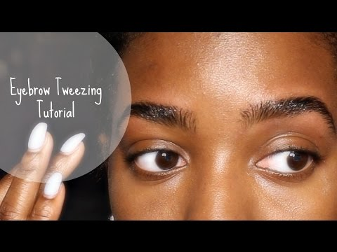 Eyebrow Tweezing/Clean-Up Tutorial | JodyAnnC_xo