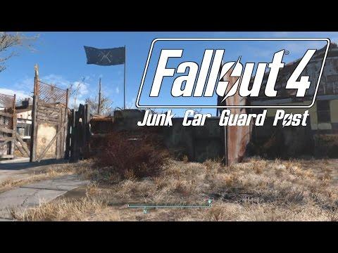Fallout 4 - Junk Car Guard Post