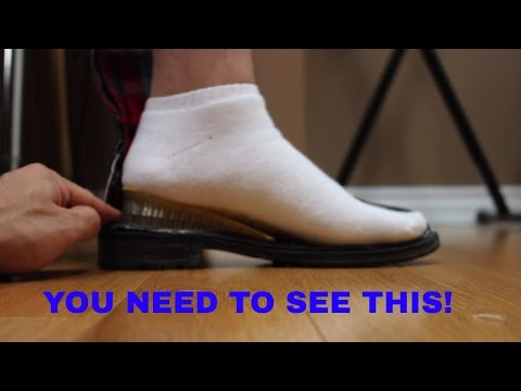 HOW HEIGHT INSOLES & SHOE LIFTS LOOK WHILE YOU STAND! YOU WILL BE SURPRISED...