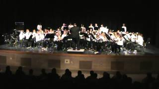 East JH 8th Grade Concert Band, February 2014