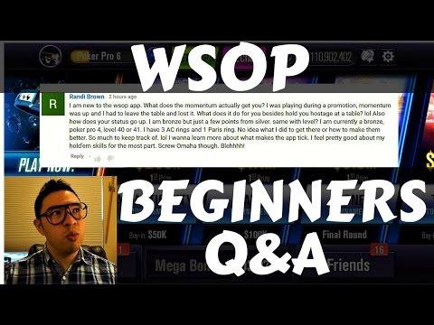 Beginner Walkthrough for WSOP Game | Poker Pro Status + Playtika Rewards | WSOP Guide