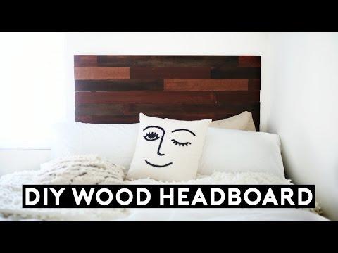 DIY Wood Headboard Tumblr Inspired! (Under $50) Affordable Room Decor for 2017