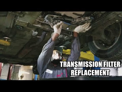 How To Replace Transmission Filter 2005-2009 Buick LaCrosse
