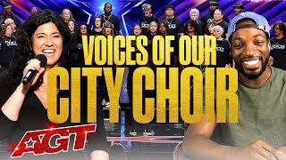 Beyond the Stage Brought to You by Dunkin': Voices of Our City Choir - America's Got Talent 2020
