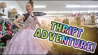 THRIFT Shopping ADVENTURE!-  Follow Me Around