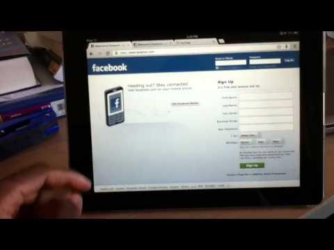 Google chrome on iPad