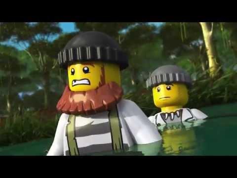 The Wild Chase - LEGO City Swamp Police - Mini Movie (3D)