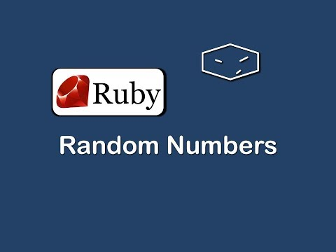 random numbers in ruby
