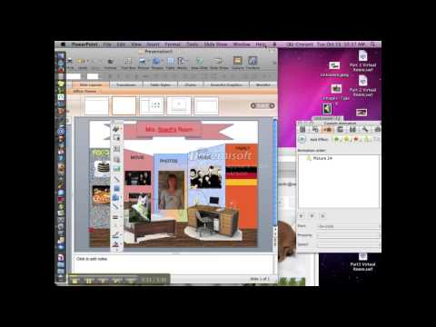 Build a Virtual Room in PowerPoint