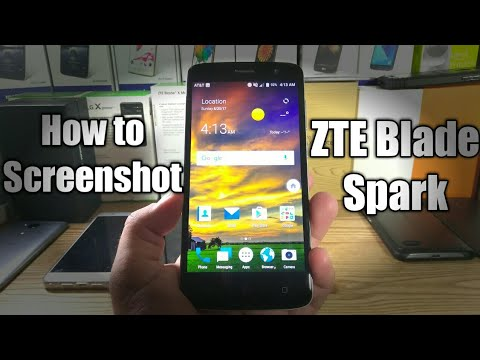 How to ScreenShot on the ZTE Blade Spark
