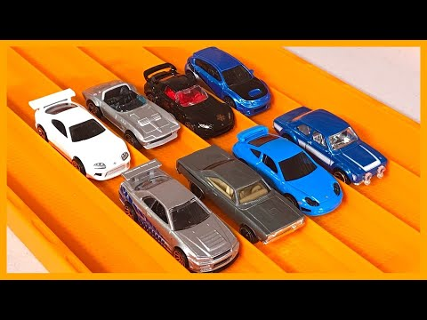 2017 Fast and Furious 8 Car Set RACE & Review Hot Wheels