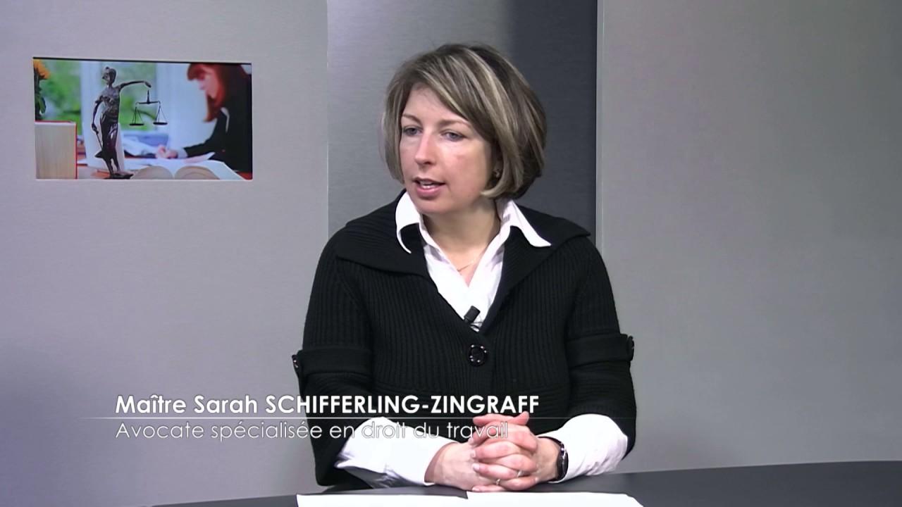 Médecine du travail - Me SCHIFFERLING - TV8 - Mars 2017