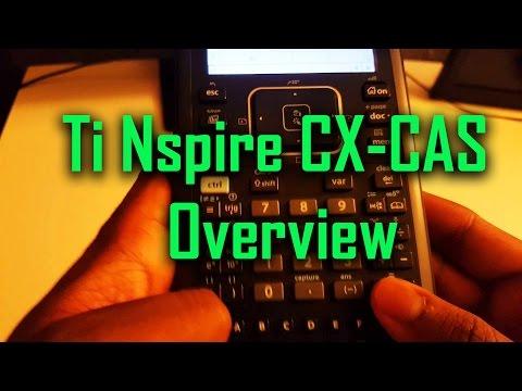 Ti Nspire CX-CAS Overview