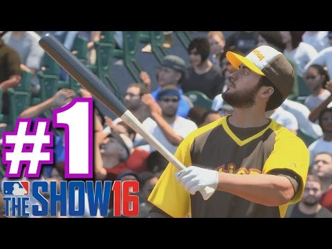 SOFTBALL HOME RUN DERBY!   MLB The Show 16   Home Run Derby #1
