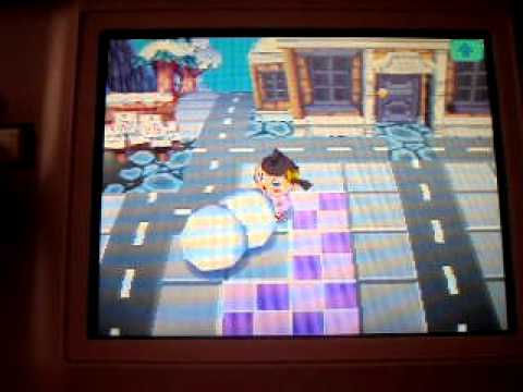 How To Make A Snowman On Animal Crossing Wild World