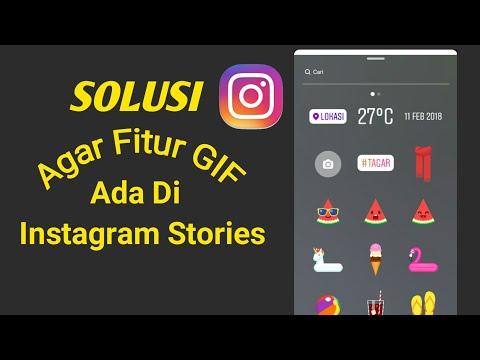 Solusi Agar GIF Muncul di Instagram Stories