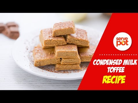 How To Make Condensed Milk (Fine) Toffee