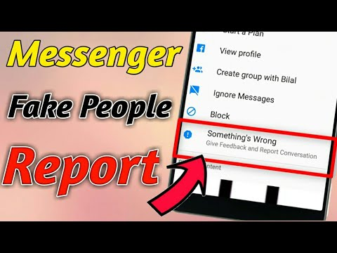 How To Use Messenger Report || Account Block  In one Report