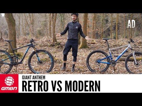 Retro Vs Modern Full Suspension Bike | The Giant Anthem Through The Years