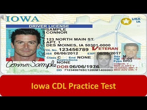 Iowa CDL Practice Test