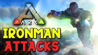 ATTACKED BY IRON MAN  -  ARK Extinction - Duo Survival Series #6