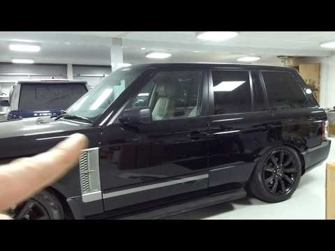 Fitting L405 Style Side Graphics to Range Rover L322