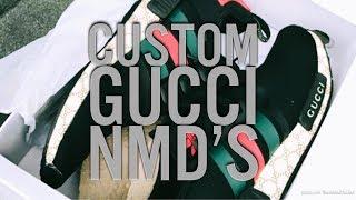 Adidas Nmd Pk R1 Tri Color Size 12 Primeknit White Black Red Glitch