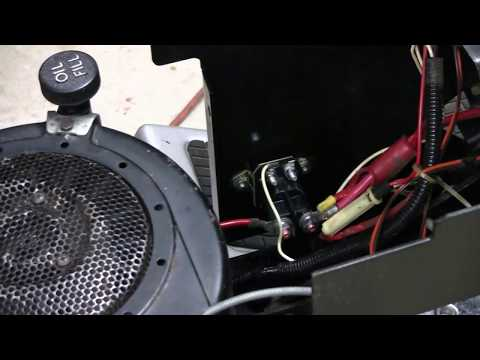 HOW TO REPLACE SOLENOID ON LAWN TRACTOR