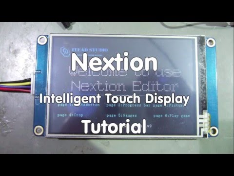 056 Inexpensive Intelligent Touch Displays for Arduino
