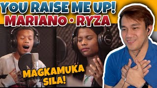 MARIANO AND RYZA - YOU RAISE ME UP COVER | SY MUSIC ENTERTAINMENT | REACTION