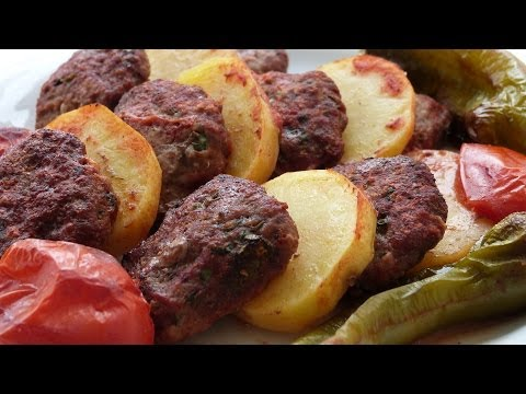 Oven Baked Meatballs Recipe | Turkish Meatballs in Oven