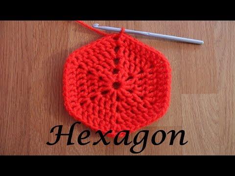 How to Crochet Solid Hexagon