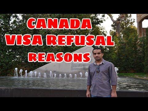 Canada Visa | Refusal Reasons