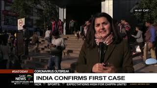 India confirms first coronavirus case