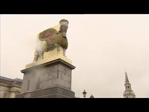 Where do Trafalgar Square's 4th plinth sculptures go? - Wendy Hurrell