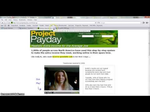 Project Payday - Post Ads Daily & Make Money Online