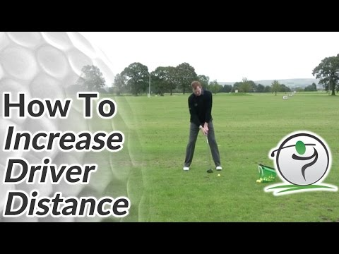 Longer Golf Drives - How To Increase Your Golf Driver Distance