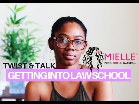 Twist & Talk | How To Get Into Law School