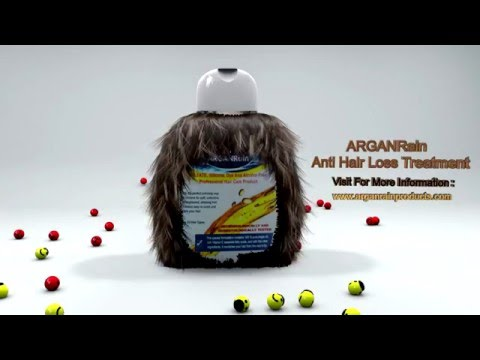 In A Bottle hair fall remedy - ARGAN Rain Products