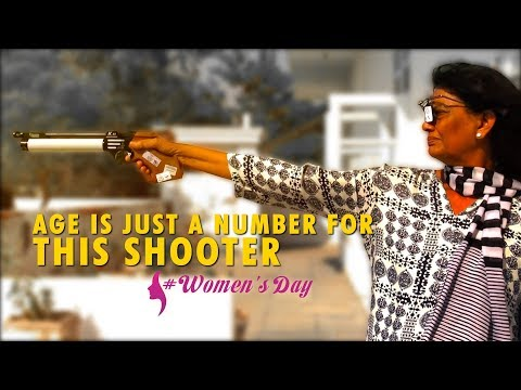International Women's Day: Age is just a number for this shooter