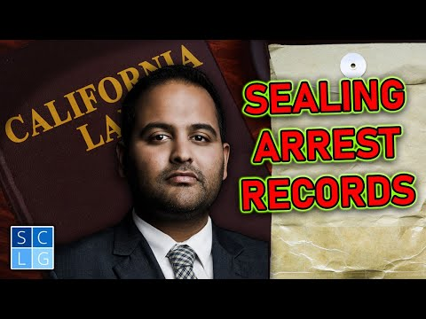 California SB 393: Making it easier to get arrest records sealed