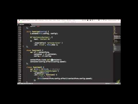 Learn jQuery in 30 Days: Lesson 2.1-2 - Slides and Structure