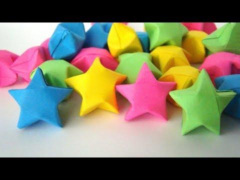 Origami Star. (Instructions) (Easy) (Full HD)