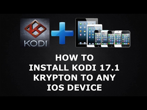 NEW! INSTALL KODI ON IPHONE/IPAD/IPOD/ALL IOS DEVICES NO JAILBREAK STEP-BY-STEP GUIDE 9/10.2.2