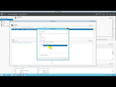 Configure Network Teaming on windows server 2012 r2