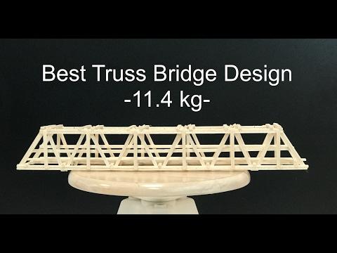 Best Balsa Wood Bridge Desing - easy to make
