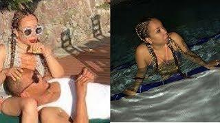 TI Surprises Tiny On Her Birthday Trip To St Lucia