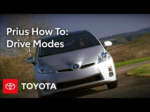 2010 Prius How-To: Drive Modes | Toyota
