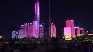 Shenzhen Light Show - National Holidays